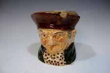 "Royal Doulton Porcelain Ash Pot - Old Charley - 3""Tall"