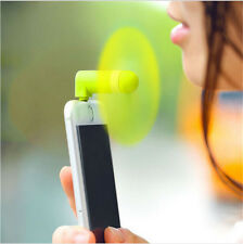 ✓ MINI VENTILATEUR PORTABLE REFROIDISSEMENT IPHONE LIGHTNING ANDROID MICRO USB