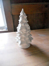 "C-0274 9"" Christmas tree and Base Ceramic Bisque U Paint"