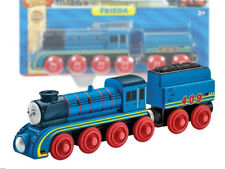 FRIEDA TRAIN Thomas and friends wooden train set engine DFX20 Fisher Price Toy