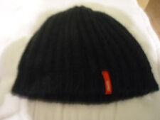 ESPRIT DAMEN Mütze Wollmütze schwarz , ca. 23 cm hoch