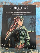 Christie's EAST Hollywood and Early Cinema Posters 1997 Catalog