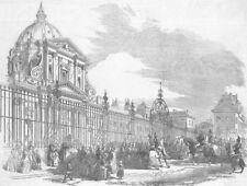 MEDICAL. General Magnan's, Val de Grace hospital, antique print, 1851