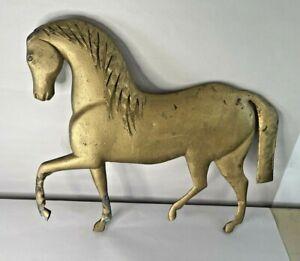 Antique J. Howard Molded Copper & Cast Zinc Horse Weathervane, As Found