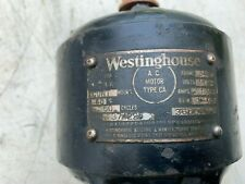 New Listingantique Westinghouse 120 Hp Electric Motor 374225 Lathe Drill Press Antique