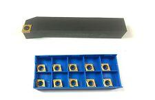 Drehhalter SCLCR 2020K09 20x20 mm rechts + 10 pass. Wendeplatten CCMT 09T404 NEU