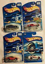 4 Hot Wheels NEW NIB: Toyota AE-86, Ferrari 456M, '80 Corvett and 63 Corvette