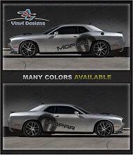 Challenger Mopar Mid Body Graphics Kit 2008-2016 - RT