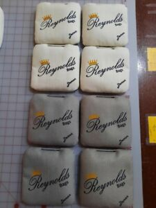 Cornhole Bags (8 Brand New Reynolds Demons - White/Grey)