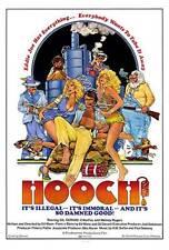 HOOCH Movie POSTER 27x40 Gil Gerard Erika Fox Melody Rogers Danny Aiello Mike