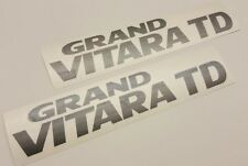 Suzuki Grand Vitara TD decals stickers graphics Side replacements any colour