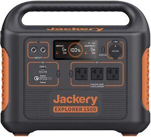 ⚡ 1500W Jackery Portable Puissance Station Explorateur Solaire Générateur Neuf