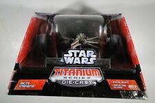 "Star Wars Ultra Titanium Series Die Cast 6"" ARC-170 Fighter 2006 NIB"