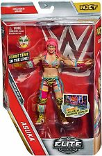 WWE ASUKA ELITE 47A WRESTLING FIGURE NXT WOMENS CHAMPION W/ MASK FIRST IN LINE