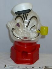 POPEYE THE SAILOR GUMBALL VENDING BANK HASBRO TOY 1960s