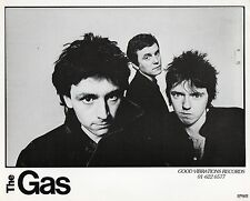 Original Press Photo promo walkerprint THE GAS - MOD - POWERPOP punk KBD