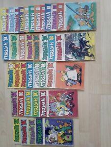 mosaik abrafaxe sammlung 1/1976 bis 5/1990 128 Hefte