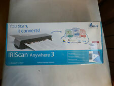 SCANNER PORTABLE : IRIS SCAN ANYWHERE 3 NEUF