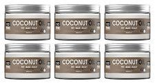 6 X 100 % pure natural coconut oil 450ML Cooking, hair skin & face moisturiser