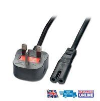UK Power Lead Cable Canon Pixma MP500 MP510 MP520 MP530 MP540 MP550 Printer