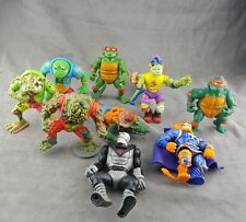 Vintage Tmnt Lot Teenage Mutant Ninja Turtles Action Figures