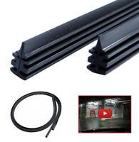 ✅+VIDEO 2x750mm Wischergummi für Bosch Aerotwin Ersatzgummi Scheibenwischergummi