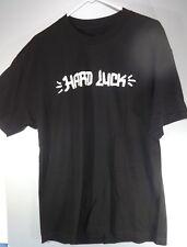 Hard Luck Graffiti logo tag T-Shirt Black shirt Large Skateboard bearings