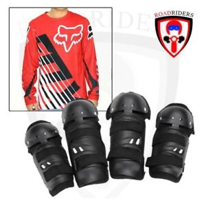 Motorcycle Dry Fit Jersey Longsleeve With Gear Set - (RED) 2XL