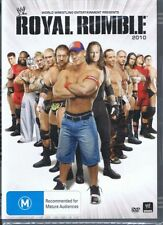 WWE Wrestling DVD Royal Rumble 2010 NEW & SEALED Free Post