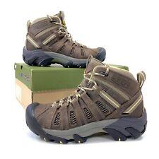 New KEEN Women Voyageur Mid Hiking Boot 1010138 Brindle/Custard Women's Size 8.5