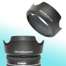 EW-63C Lens Hood Shade Canon EF-S 18-55mm f/3.5-5.6 f/4-5.6 IS STM 58mm Thread