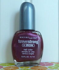 MAYBELLINE FOREVER STRONG NAIL POLISH PLUM ROYAL 243
