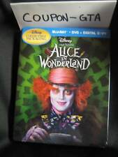 OOP Ironpack/ Steelbook Alice in Wonderland  BRAND NEW SEALED/ BUENA VISTA Stamp
