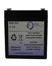 AGM Akku 12V 5Ah Ersatz USV Rasenmäher Batterie Geräte RBC UPS