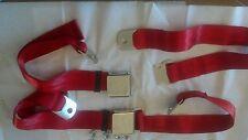 Bright Red Vintage bmw honda volvo alfa romeo corvette vw bug bus mg mgb mga gt