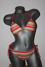 "Triumph Push-Up Bikini ""Sloggi Swim Red Stripe CTOU + Tanga"" Gr. 38 orange"