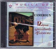 CD (NEW) CAMEROUN NEGRO SPIRITUALS AFRICAINS