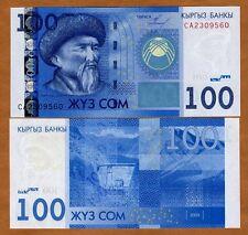 Kyrgyzstan, 100 Som, 2009, P-26, UNC