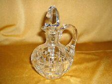 kleine Nachtmann Glaskaraffe für Essig / Öl / Likör - 17 cm - klares Kristall