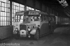 Rotherham Corporation Transport Trolleybus No.118 inside depot Bus Photo