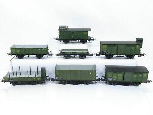 Trix H0 (AC) Güterwagen-Set K.Bay.Sts.B 7-teilig