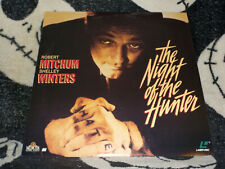 The Night of the Hunter Laserdisc Ld Robert Mitchum Free Ship $30 Orders