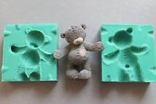 Silicone Mould 3D ME TO YOU BEAR Sugarcraft Cake Decorating Fondant / fimo mold