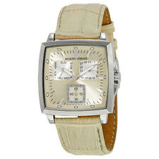 Jacques Lemans Milano Beige Silver Dial Mens Watch 1-1474E