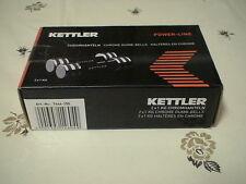 Kettler POWER-LINE Chromhanteln m.Schaumstoffüberz.Maße:ca.17x 3-4,8cm(LxD),NEU