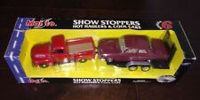 Maisto Show Stoppers Hot Haulers & Cool Cars 1948 Ford F1 Pick Up,64 Fairlane