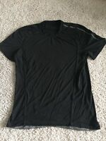 Lululemon Mens Black Short Sleeve T Shirt Size M