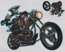 Aufkleber Decal Sticker Ax Clown on Chopper  Auto Biker Helm Tank MC Laptop