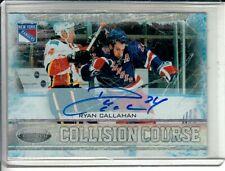 2011-12 Certified Collision Course Autographs #2 Ryan Callahan /100