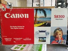 OPEN BOX! Canon S830d Digital Photo Inkjet Printer